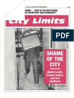 City Limits Magazine, February 1991 Issue