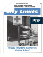 City Limits Magazine, June/July 1991 Issue