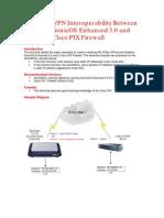VPN Interoperability Between Sonicos30e and Cisco Pix Firewall