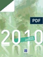 SIDI - Rapport d'activités 2010