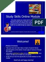 Study Skills Module com