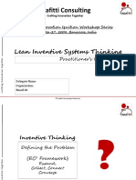 Lean Inventive Systems Thinking Work Book