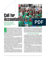 Call For Accountability