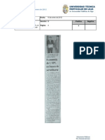Informe de prensa del 20 al 27 de enero de 2012