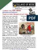 Newts Letter Vol 1 No 7 (inline) - Jan 2012
