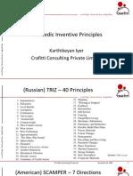 Vedic Inventive Principles Presentation