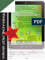 Flyer Registration Technology Fair