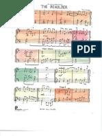 The Beholder - Sheet Music