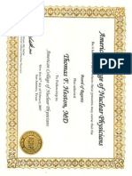 Fellowship Award from the American College of Nuclear Physicians 2007.