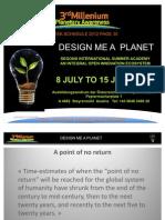 DESIGN ME A PLANET AUSTRIA 2012 DRAFT V20120202