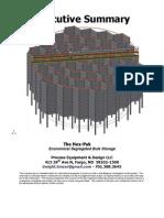 Executive Summary Hex-Pak Process Equipment Dwight Kinzer 22Jan2012