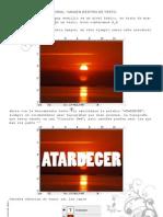 Tutorial - Imagen Dentro de Texto