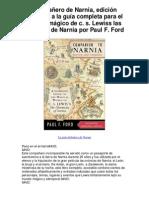 Compañero de Narnia edición revisada a la guía completa para el mundo mágico de c s Lewiss las crónicas de Narnia por Paul F Ford - Averigüe por qué me encanta!