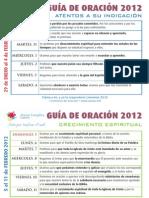 Guía Oración Febrero 2012