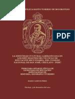 Identidad Cultural Lambayecana - Mario Campos Perez