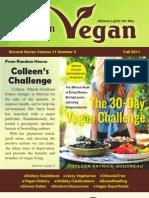 American Vegan Newsletter [Fall 2011]