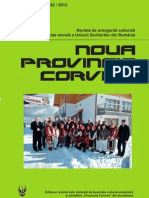 Noua ProVincia Corvina Nr.61!62!2012