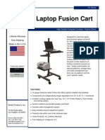 Laptop Fusion Cart (LFC Series) Product Flyer
