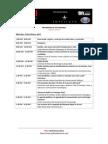 Programa de Actividades POLI Conference 2012