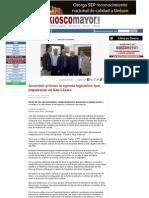 29-01-12 Acuerdan priistas la agenda legislativa que impulsarán en San Lázaro