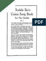 Ukulele Ike's comic song book n°2