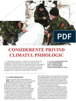 climatul psihologic
