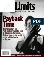 City Limits Magazine, March 2001 Issue