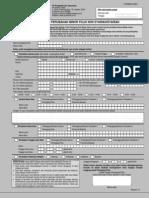 Form 01 Perubahan Minor
