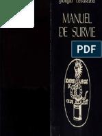 Giorgio Cesarano - Manuel de Survie