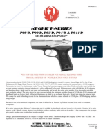 Ruger P94 Pistol Parts