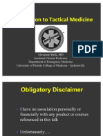 Intro to Tactical Medicine
