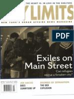 City Limits Magazine, February 2002 Issue