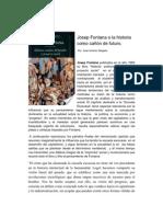 Josep Fontana o la historia como cañón de futuro