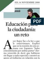 Quim Monzó. Educación Para La Ciudadanía
