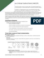 02 - Hazard Analysis Critical Control Point