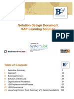 Solution Design Sample