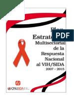 Plan Estrategico Vih Ecuador 2011-2015