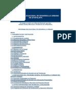 Programa Delegacional de Desarrollo Urbano