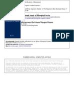 Almang - 2008 - Affordances and the Nature of Perceptual Content