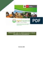 Planes de negocios como un medio de acceso a mejores mercados – el caso de las cuencas del Napo, Tigre y Amazonas del Perú