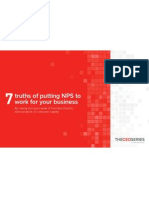 7 Truths of Putting NPS To Work for Your Business