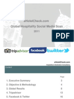 Report Global Hospitality Social Media Scan 2011