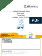 Future Chef Recipe Book, 2012