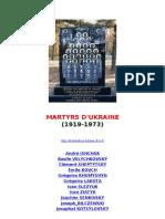 Les Martyrs d Ukraine