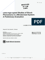 Wayne M. Trott and Kenneth L. Erickson- Ultra-High-speed Studies of Shock Phenomena in a Miniaturized System