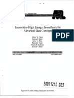 Albert W. Horst et al- Insensitive High Energy Propellants for Advanced Gun Concepts