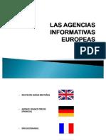 Las Agencias Informativas Europeas
