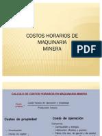 Costos de Equipos Mineros