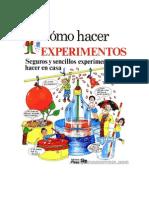 cómo hacer experimentos