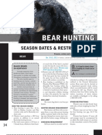 Deer Guide Bear Hunting